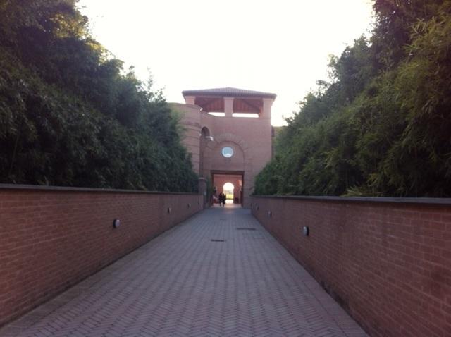 ingresso labirinto della masone